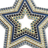 Swarovski Multicolor Crystal Star Pendant Necklace SULTAN 70cm #1165488 - Zhannel  - 2
