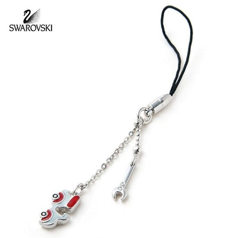 SWAROVSKI Edison Scooter CAR Cell Phone CHARM #933619 New - Zhannel  - 1