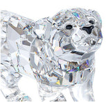 Swarovski Clear Crystal Figurine Animal LION CUB #1194148 New - Zhannel  - 3