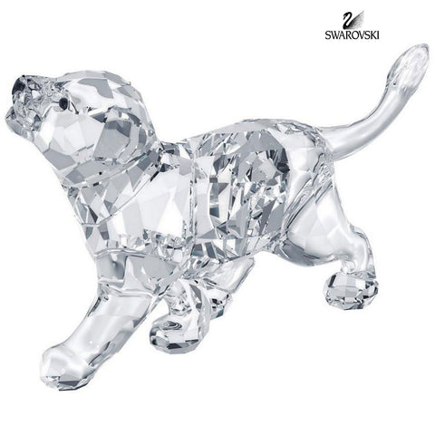 Swarovski Clear Crystal Figurine Animal LION CUB #1194148 New - Zhannel