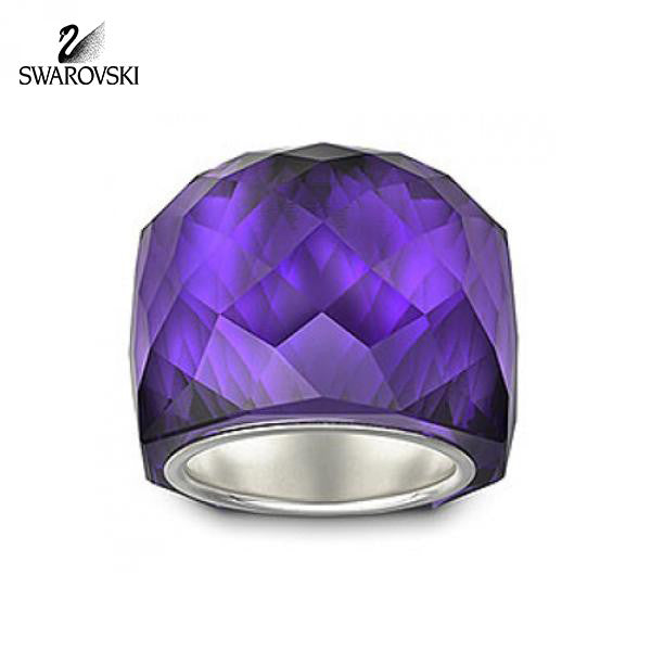 160e2e88db9463 Swarovski Purple Velvet Crystal NIRVANA RING – Zhannel