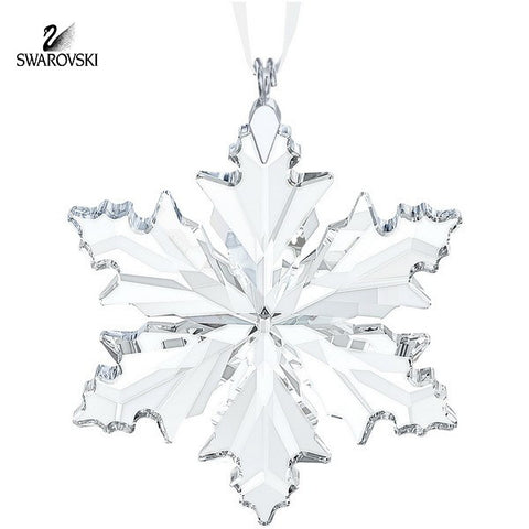 Swarovski Clear Crystal Christmas 2014 Ornament LITTLE SNOWFLAKE #5059028 - Zhannel  - 1