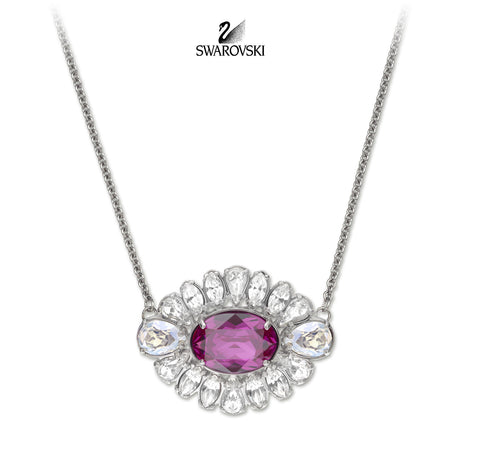 Swarovski By Shourouk Jewelry Necklace Flower Pendant Small #5029265 - Zhannel  - 1