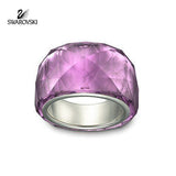 Swarovski Purple Crystal NIRVANA RING PETITE Amethyst - Zhannel  - 5