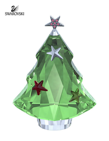 Swarovski Crystal Christmas Figurine CHRISTMAS TREE #5003401 - Zhannel  - 1