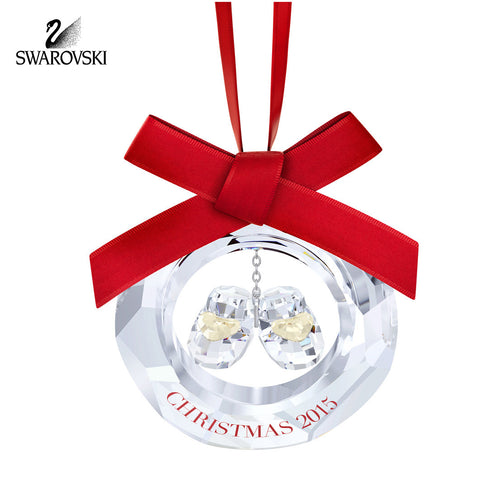 Swarovski Crystal Christmas Ornament BABY'S 1st CHRISTMAS #5135873 New - Zhannel  - 1