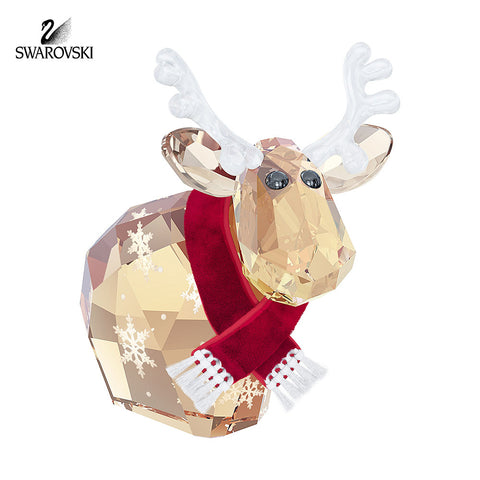 Swarovski Color Crystal Christmas Figurine REINDEER MO 2014#5059025 LIMITED EDITION - Zhannel