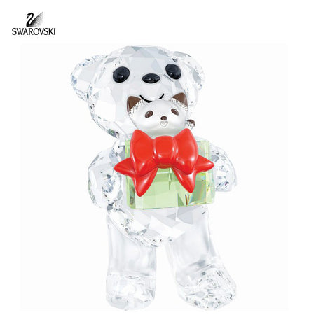 Swarovski Crystal Christmas Figurine KRIS BEAR Christmas 2014 #5058935 - Zhannel  - 1