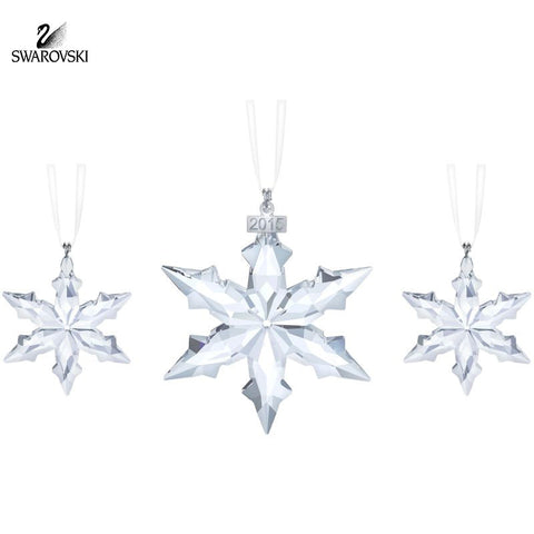 Swarovski Crystal Christmas Ornaments Set of 3 Christmas set 2015 #5135889 - Zhannel  - 1