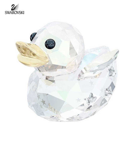 Swarovski Crystal Christmas Figurine HAPPY DUCK ANGEL #5080327 - Zhannel  - 1