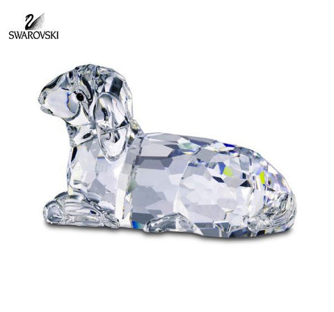 Swarovski Clear Crystal Nativity Figurine MOTHER SHEEP #631437 - Zhannel  - 1