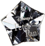 Swarovski Clear Crystal Figurine Title Plaque PETER PAN #1036622 New - Zhannel  - 2