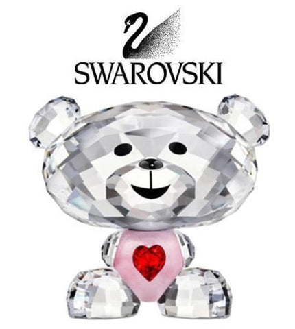 Swarovski Crystal LOVLOTS Figurine BO BEAR SO SWEET #1140001 - Zhannel  - 1