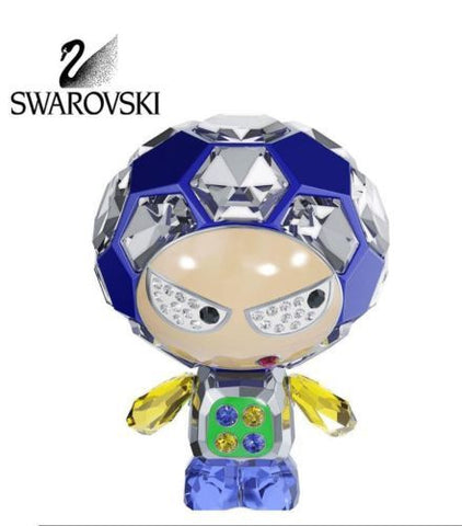 Swarovski Colored Crystal Figurine ELIOT Soccer #5055930 Box New - Zhannel  - 1