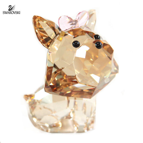 Swarovski Color Crystal Figurine PUPPY DIXIE THE YORKSHIRE #5063332