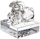 Swarovski Crystal Figurine Chinese ZODIAC SHEEP -1046180