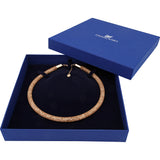Swarovski Crystal STARDUST DELUXE Necklace, Rose Gold -5171532