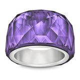 Swarovski Purple Velvet Crystal Petite  NIRVANA RING