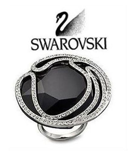 $240 Swarovski Crystal MAY Ring #1065339 Size 52/ Small = 6 / S New - Zhannel