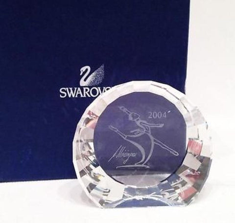 "Swarovski SCS 2004 Magic of Dance Crystal Paperweight ""Anna"" Large 60mm #660295 - Zhannel"