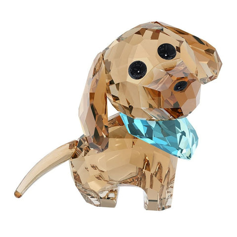 Swarovski Color Crystal Figurine PUPPY MILO THE DACHSHUND #5063336