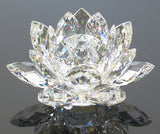 Swarovski Clear Crystal Figurine WATERLILY CANDLE HOLDER Small #11867