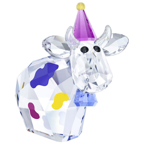 Swarovski Crystal Figurine LovLots PARTY MO Cow 2018 -5301580