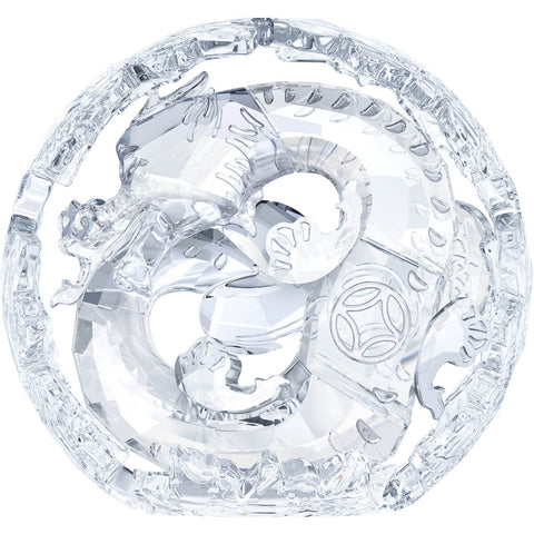 Swarovski Crystal Figurine Chinese ZODIAC DRAGON, Clear -5063125