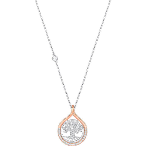 Swarovski HUMANIST TREE OF LIFE PENDANT Necklace, White, Mixed - 5353199