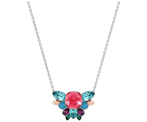 Swarovski Color Crystal Jewelry CARDINAL Necklace Small Rhodium #5143611
