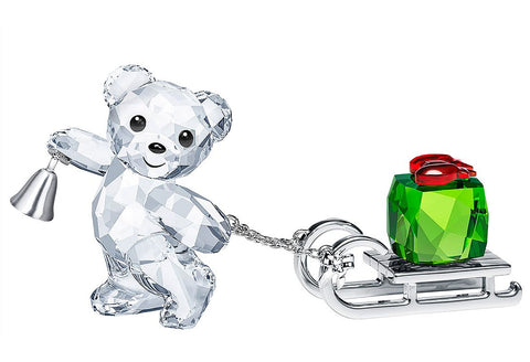 Swarovski Crystal Christmas Figurine KRIS BEAR CHRISTMAS 2019 -5464863