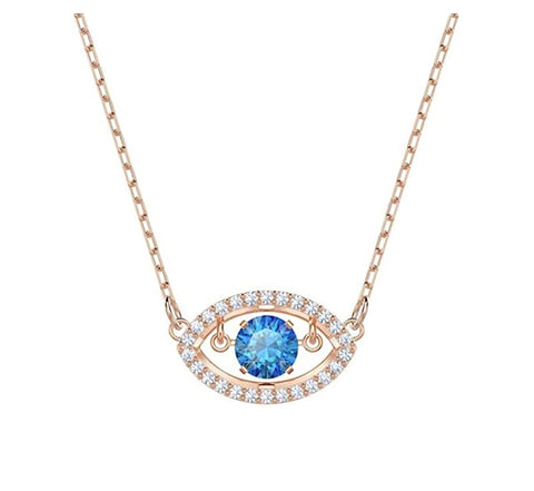 Swarovski LUCKILY NECKLACE PENDANT, Rose gold -5448611