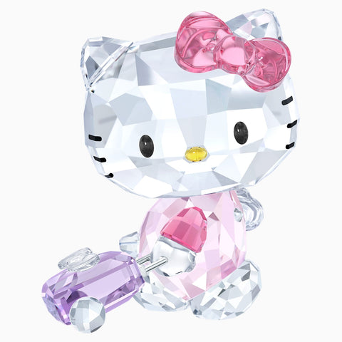 Swarovski Crystal Figurine HELLO KITTY TRAVELLER -5279082
