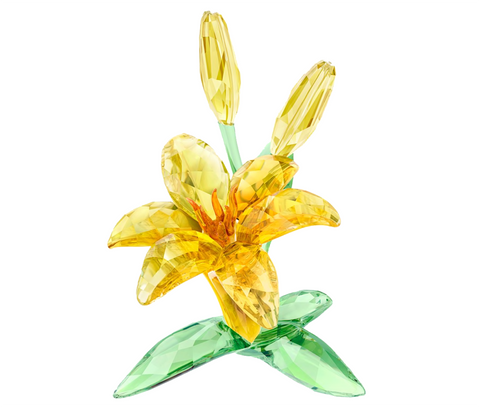 Swarovski Color Crystal Flower Figurine LILY -5371641