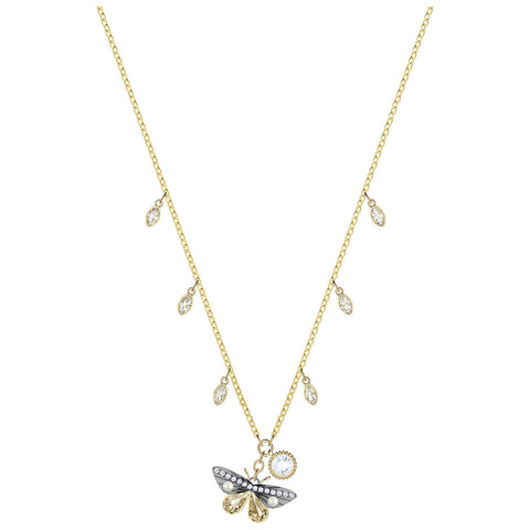 Swarovski Crystal MAGNETIC Necklace BUTTERFLY Pendant -5416786