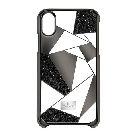Swarovski Heroism Smartphone Case with Bumper iPhone X, Black- 5392031