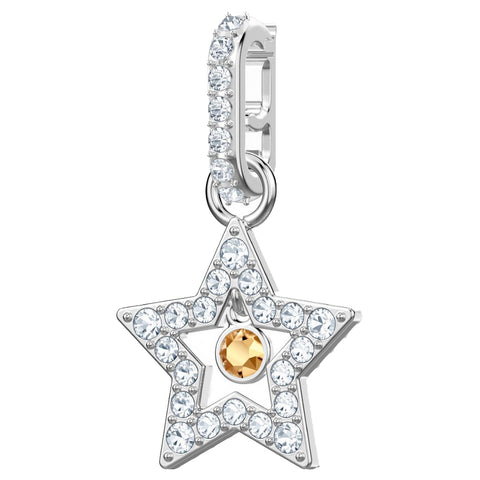 Swarovski REMIX COLLECTION STAR CHARM, White, Rhodium -5443939
