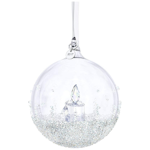 Swarovski Christmas Ornament CHRISTMAS BALL 2017 Candle Large -5241591