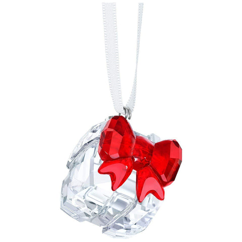 Swarovski Christmas GIFT Ornament With Red Bow - 5223258