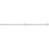Swarovski REMIX CRYSTAL PEARL STRAND, Gray, Medium -5364103