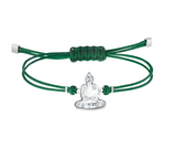 Swarovski POWER COLLECTION BUDDHA BRACELET, Green, Stainless steel -5523173