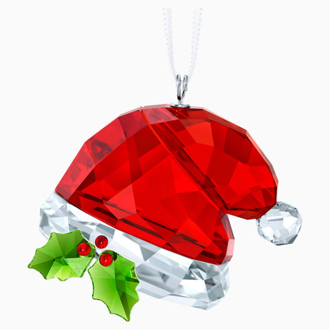 Swarovski Crystal Christmas Ornament SANTA'S HAT -5395978