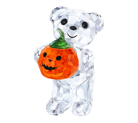 Swarovski Crystal Figurine KRIS BEAR - A PUMPKIN FOR YOU #5223252