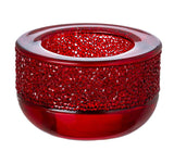 Swarovski Candle Holder SHIMMER TEA LIGHT HOLDER, Red #5108879
