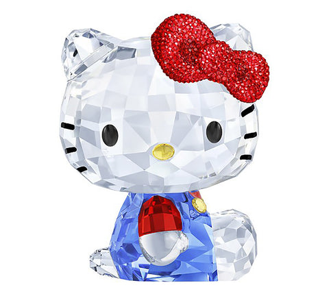 Swarovski Crystal Figurines HELLO KITTY RED BOW, Large - 5135946