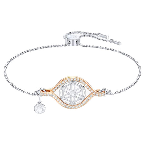 Swarovski HUMANIST FLOWER OF LIFE Bracelet, Mixed Color-5353226