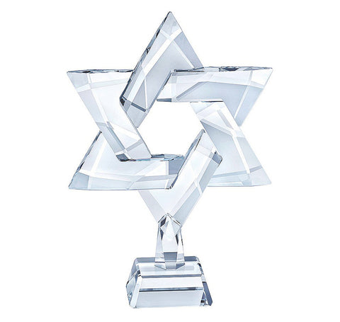 Swarovski Clear Crystal Figurine STAR OF DAVID - 5373608