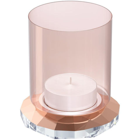 Swarovski ALLURE Tea Light Holder, Rose Gold Tone - 5235861