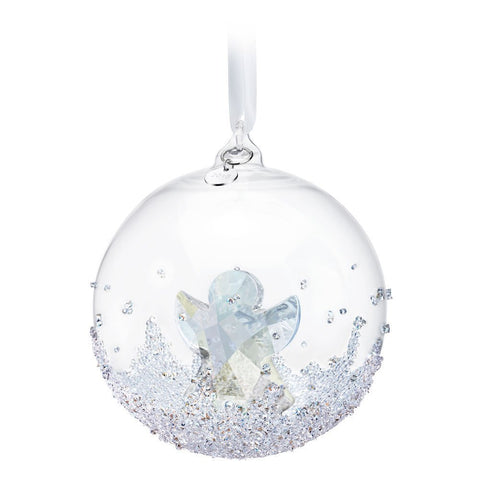 Swarovski Clear Crystal Christmas Ornament Christmas Ball 2015 #5135821
