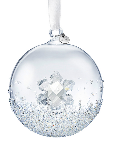 Swarovski Christmas Ornament CHRISTMAS BALL 2019 Snowflake-5453636